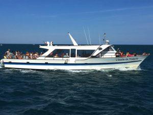 bateau promenade croisière